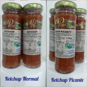 Ketchup Normal ou Picante (110g) R$ 6,90